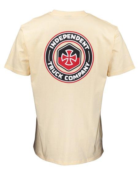 Independent Blockade Camiseta para Hombre Cream