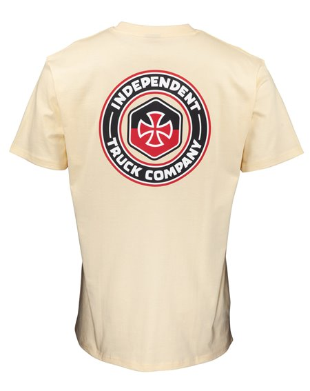 Independent Blockade Camiseta para Homem Cream