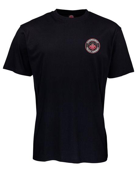 Independent Blockade T-Shirt Uomo Black