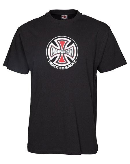 Independent Herren T-Shirt Truck Co. Black