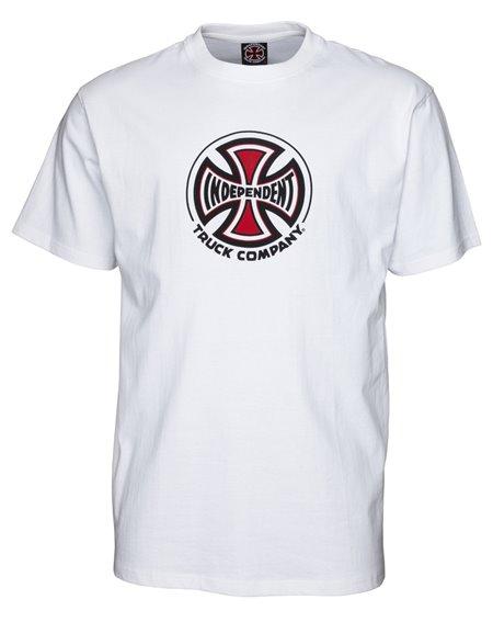 Independent Herren T-Shirt Truck Co. White