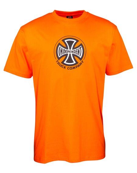 Independent Men's T-Shirt Truck Co. Orange