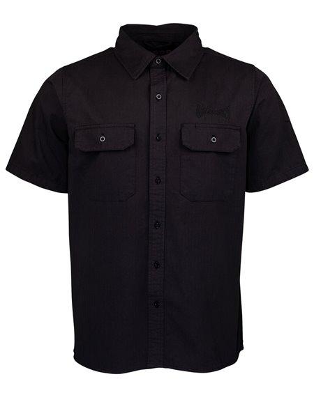 Independent Men's Shirt 78 Cross Work Black
