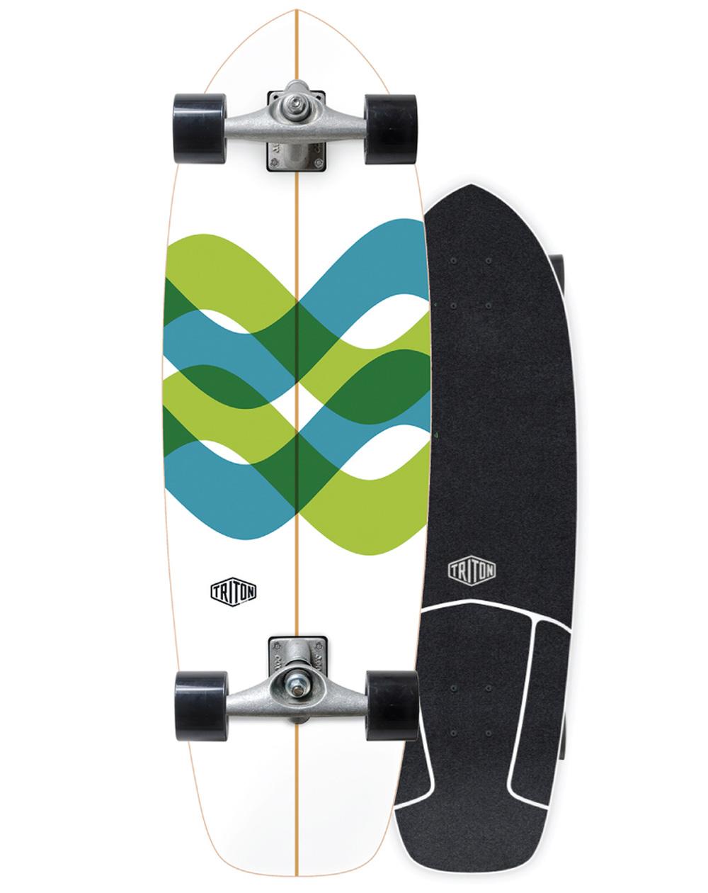 "Carver Surfskate Triton by Carver Signal 31"""