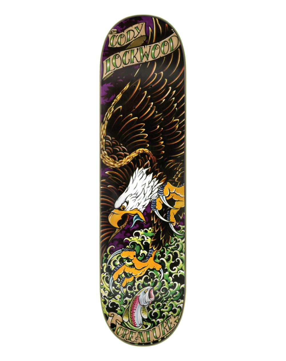"Creature Lockwood Beast of Prey 8.25"" Skateboard Deck"
