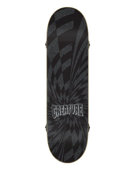 "Creature Logo Metallic Mini 7.75"" Complete Skateboard"