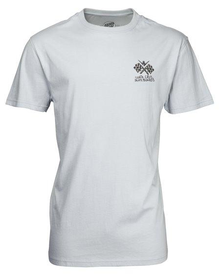 Santa Cruz Men's T-Shirt Jessee V8 Asphalt