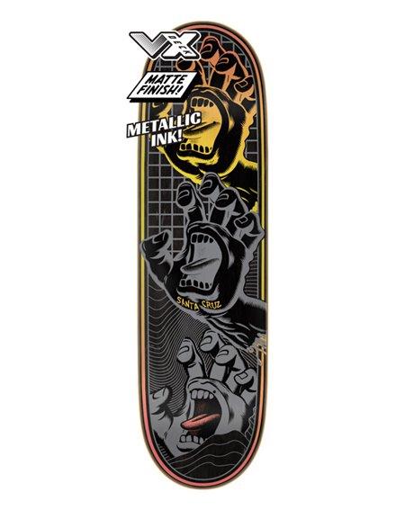 "Santa Cruz Tabla Skateboard Transcend Hands VX 8.8"""
