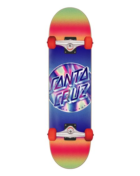 "Santa Cruz Iridescent Dot Large 8.25"" Komplett-Skateboard"