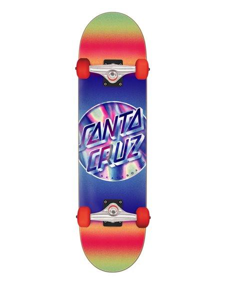 "Santa Cruz Skateboard Completo Iridescent Dot Large 8.25"""