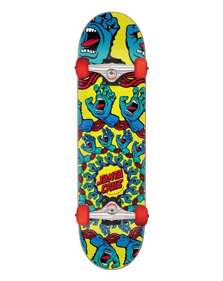 "Santa Cruz Skateboard Completo Mandala Hand Large 8.25"""