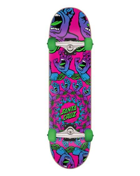 """Santa Cruz Skate Montado Mandala Hand Mini 7.75"""""""