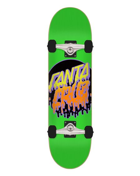 "Santa Cruz Skateboard Complète Rad Dot Micro 7.5"""