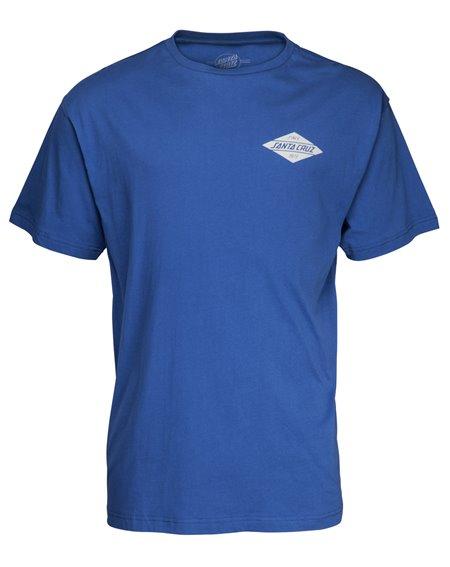 Santa Cruz Diamond T-Shirt Homme Navy