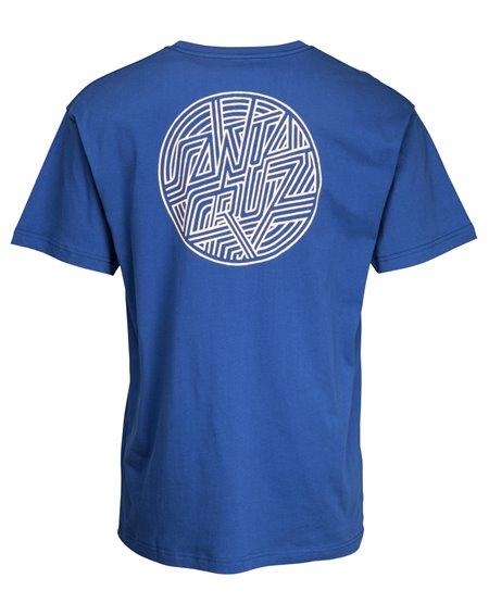 Santa Cruz Dimension Dot T-Shirt Homme Navy