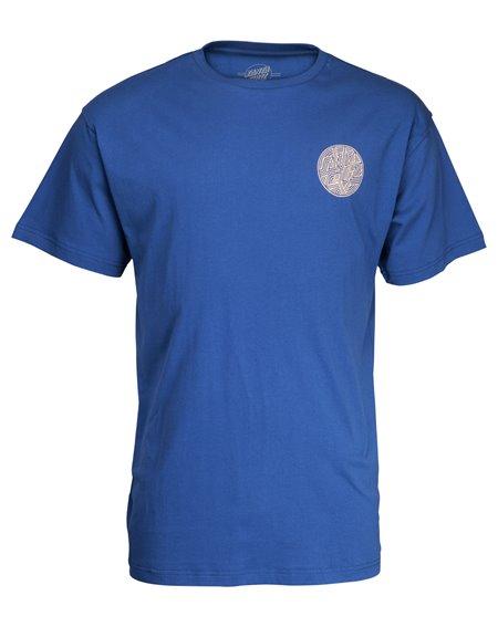 Santa Cruz Men's T-Shirt Dimension Dot Navy
