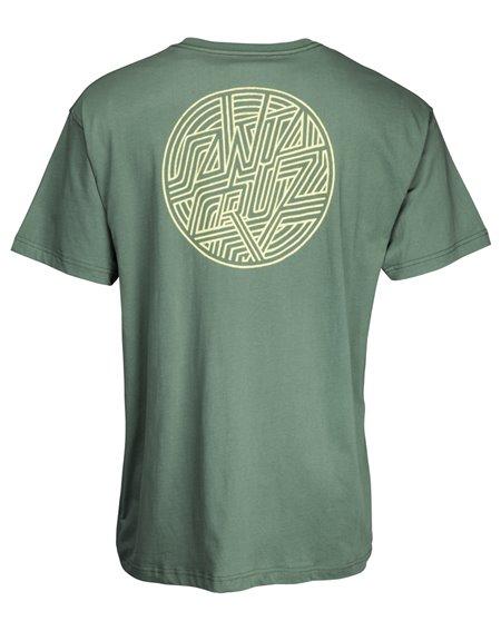 Santa Cruz Dimension Dot Camiseta para Homem Sage