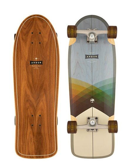 "Arbor Skateboard Cruiser Foundation Oso 30"""