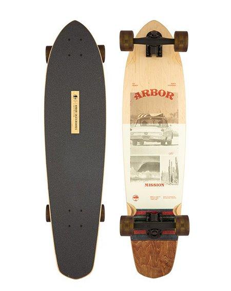 "Arbor Skateboard Cruiser Photo Mission 35"""