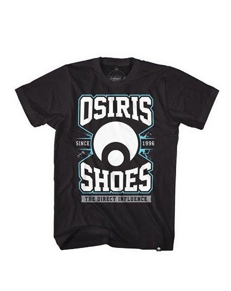 Osiris Direct Camiseta para Homem Black