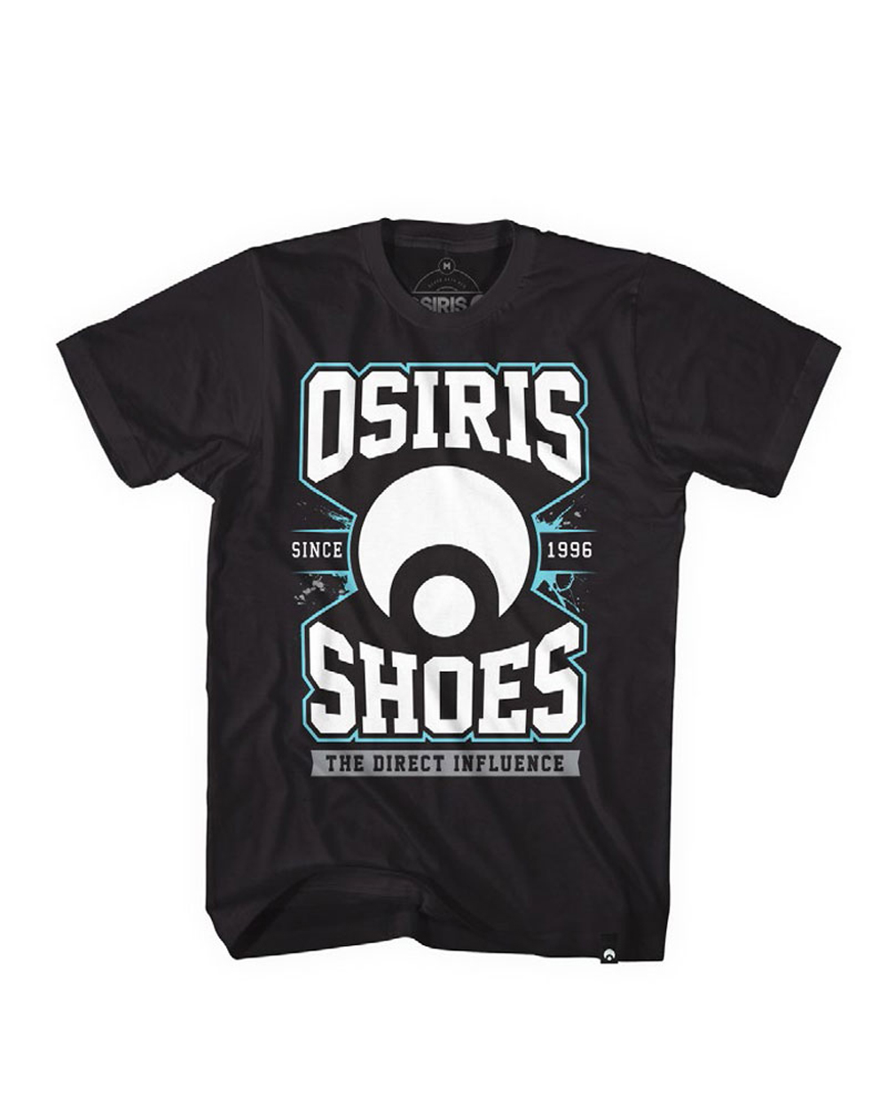 Osiris Men's T-Shirt Direct Black
