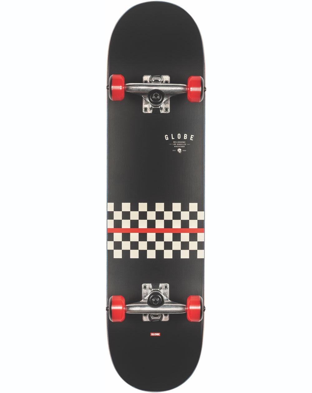 """Globe Skateboard Completo G1 Full On 7.75"""" Redline"""