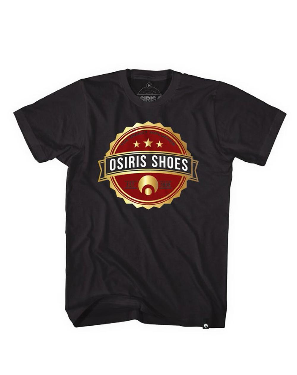Osiris Mark T-Shirt Uomo Black