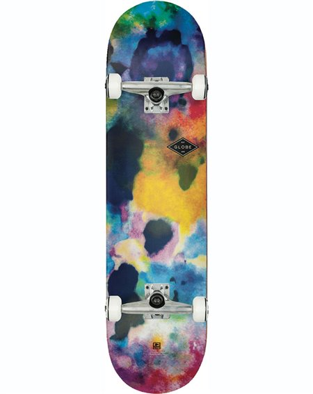 """Globe G1 Full On 7.75"""" Complete Skateboard Color Bomb"""
