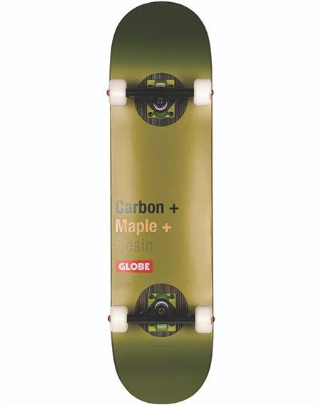 "Globe G3 Bar 8"" Complete Skateboard Impact/Olive"