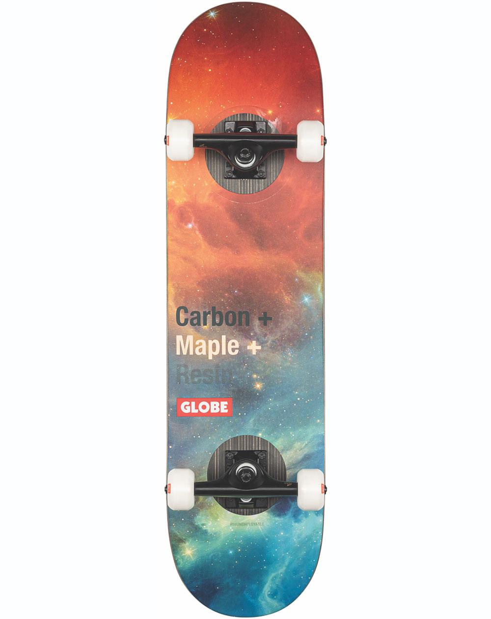"Globe G3 Bar 8.125"" Complete Skateboard Impact/Nebula"