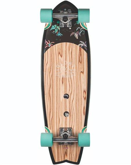 """Globe Skateboard Cruiser Sun City 30"""" Olivewood/Neon Jungle"""