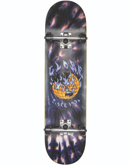 "Globe Skateboard Complète G1 Ablaze 8"" Black Dye"