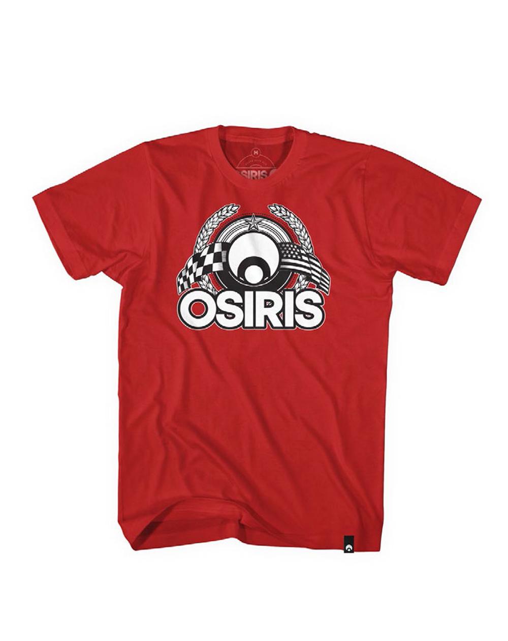 Osiris Herren T-Shirt Victory Red