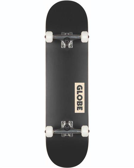 """Globe Goodstock 8.125"""" Complete Skateboard Black"""