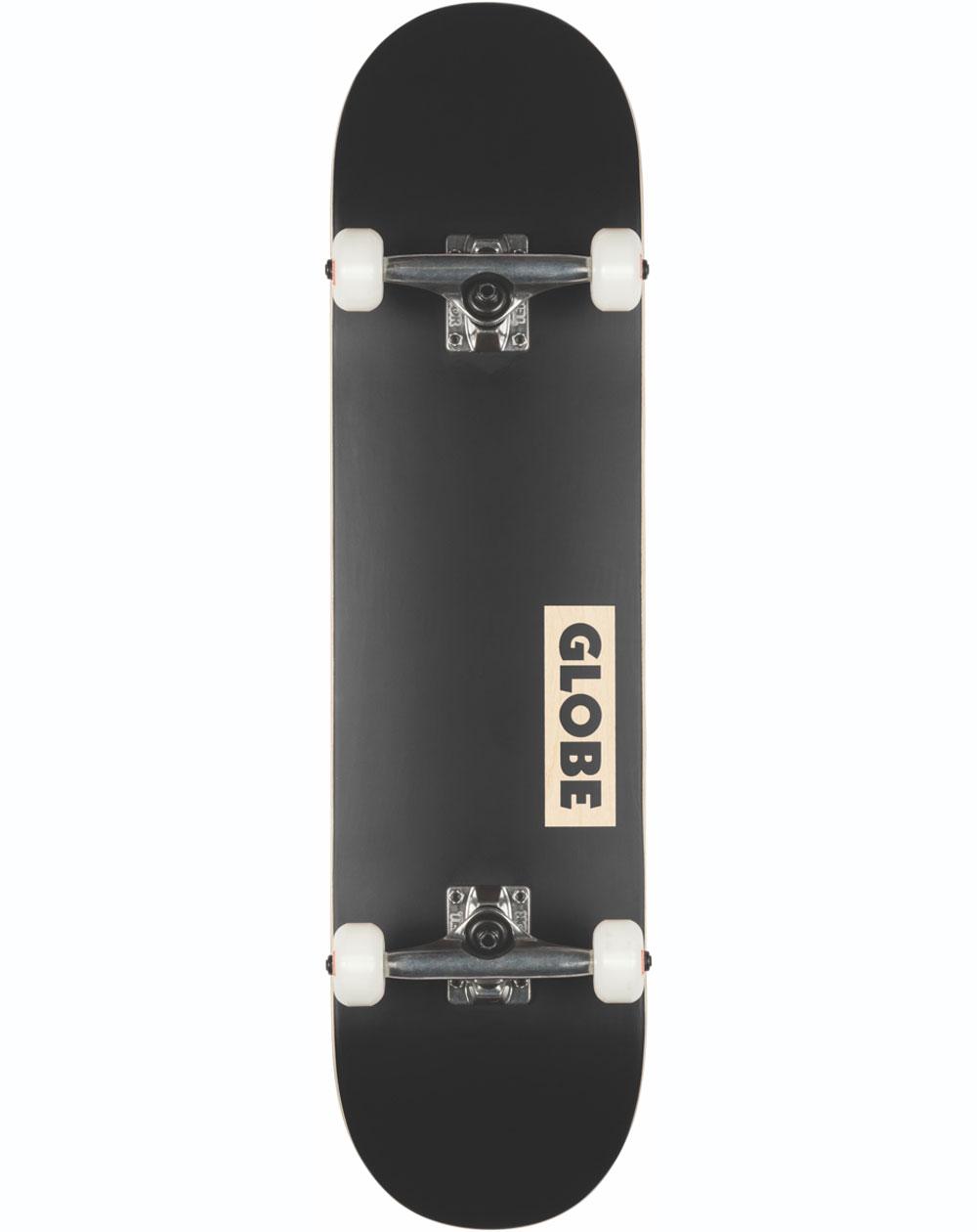 """Globe Skateboard Goodstock 8.125"""" Black"""