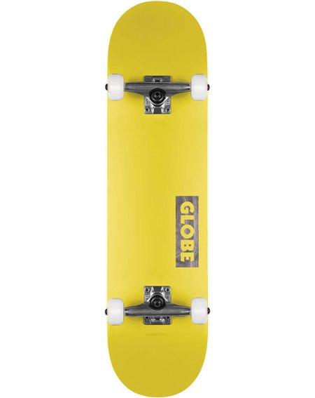 "Globe Skateboard Completo Goodstock 7.75"" Neon Yellow"