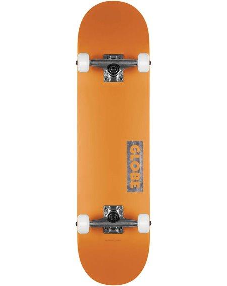 """Globe Goodstock 8.125"""" Complete Skateboard Neon Orange"""