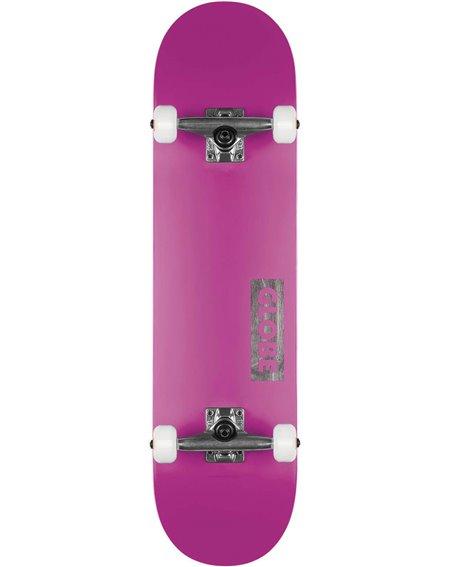 """Globe Goodstock 8.25"""" Complete Skateboard Neon Purple"""