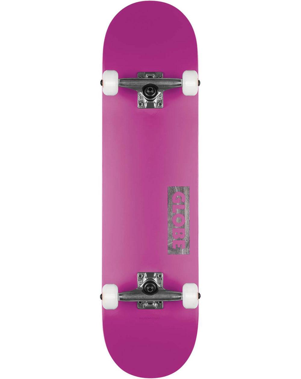 "Globe Skateboard Goodstock 8.25"" Neon Purple"