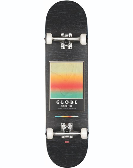 "Globe Skateboard G1 Supercolor 8.125"" Black/Pond"