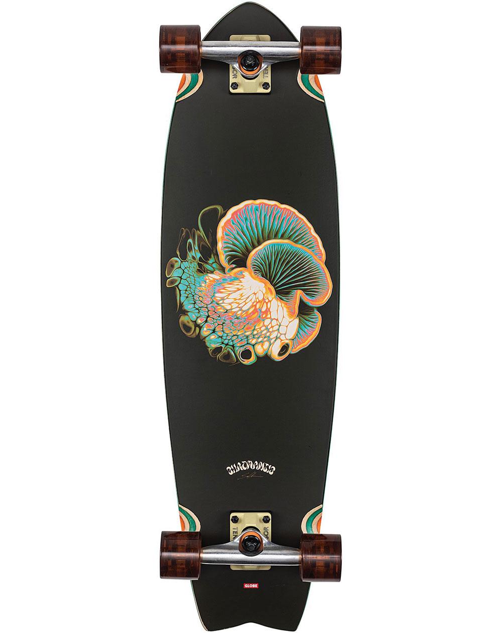 "Globe Chromantic 33"" Skateboard Cruiser Bio-Morph"