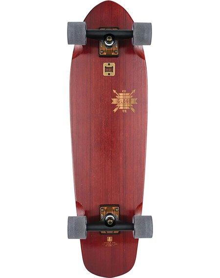"Globe Big Blazer 32"" Skateboard Cruiser Cherry/Bamboo"