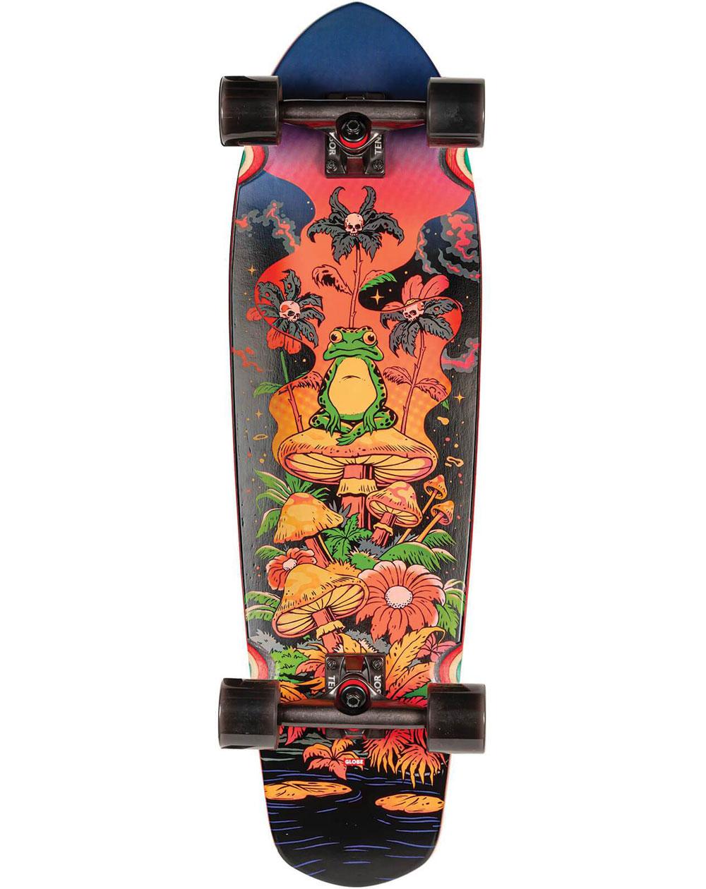 "Globe Big Blazer 32"" Skateboard Cruiser Red Toadstool"