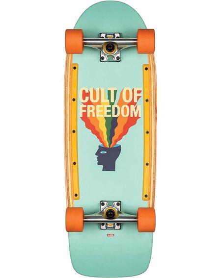 """Globe Skateboard Cruiser Burner 30"""" Cult of Freedom/Explode"""
