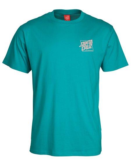 Santa Cruz SC Squared T-Shirt Homme Lake Blue