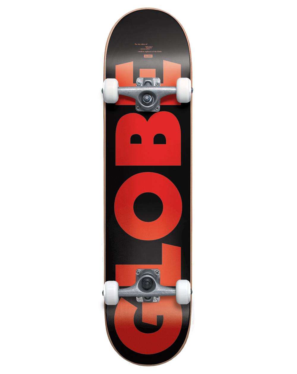 """Globe Skate Montado G0 Fubar 7.75"""" Black/Red"""