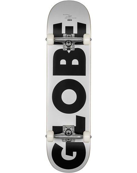 "Globe Skateboard Complète G0 Fubar 8"" White/Black"