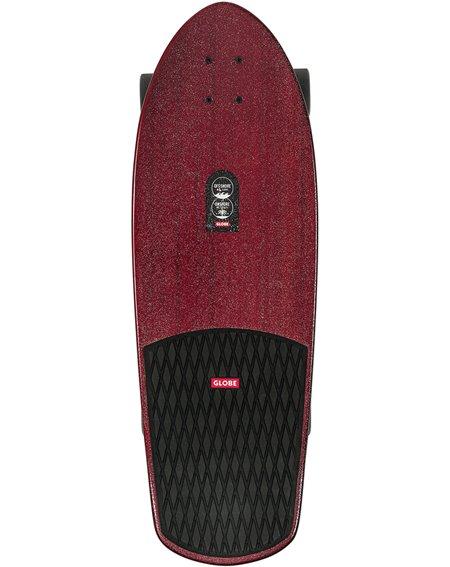 """Globe Surfskate Stubby 30"""" OnShore/Cherry Bamboo"""