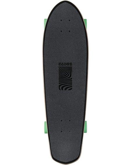 """Globe Big Blazer 32"""" Skateboard Cruiser Black/Green"""