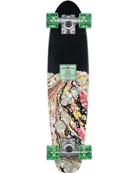 """Globe Surf Glass 27"""" Skateboard Cruiser Blaze"""